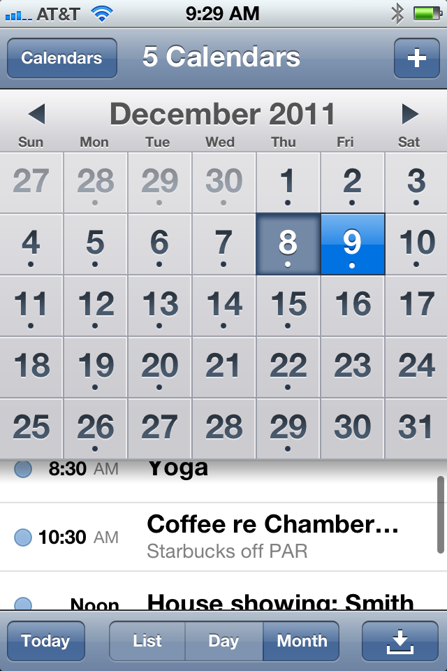 Too Much Going On? Get Organized » phone-calendar
