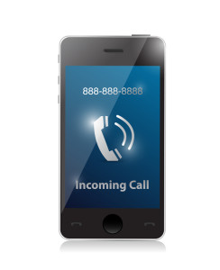 http://www.dreamstime.com/stock-image-incoming-call-modern-smart-phone-illustration-design-image32239911